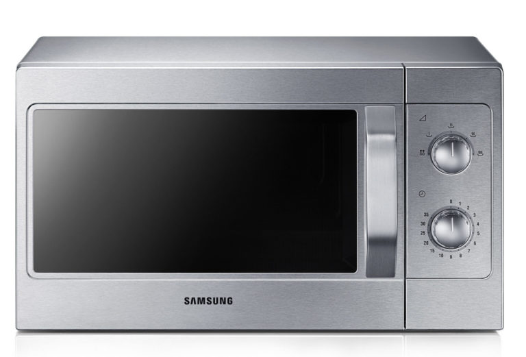 Manual microwave oven