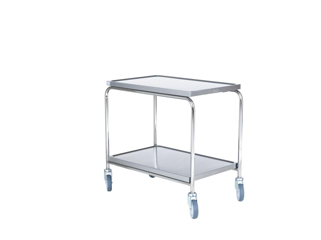 Rullbord med rostfria skivor
