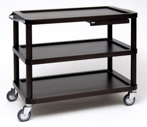 Trolley base Roma with 3 shelves