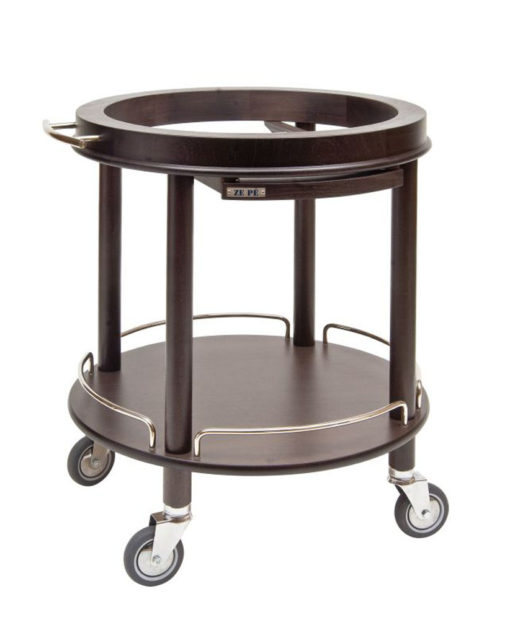 Base trolley round excluding top disc - Roma