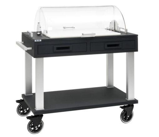 Serveringsvagn i modern och enkel design