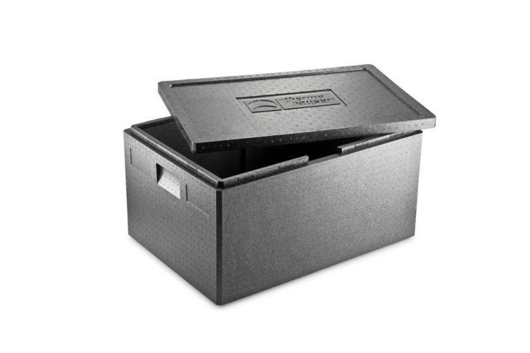 Thermohauser EPP-låda med öppet lock