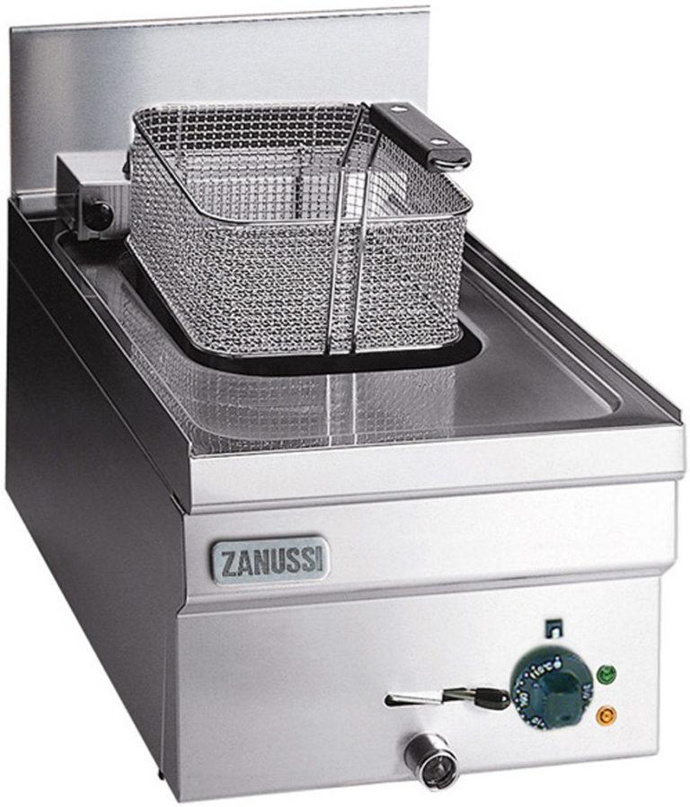 Fritös Snack 600, gas bänkmodell, 1/2 modul