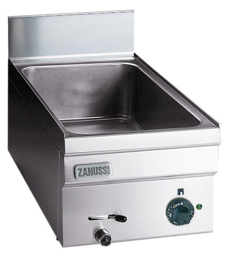 Vattenbad Snack 600, gas bänkmodell, 1/2 modul