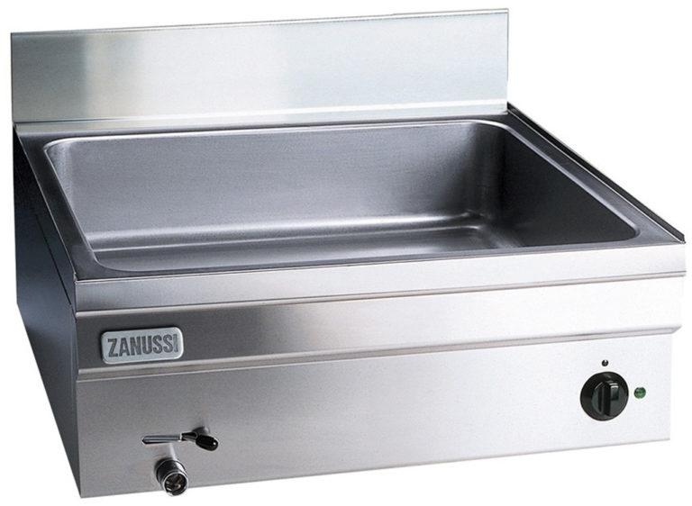 Vattenbad Snack 600, gas bänkmodell, 1 modul