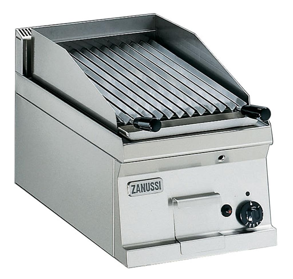 Lava stone grill Snack 600, gas bench model, 12 module