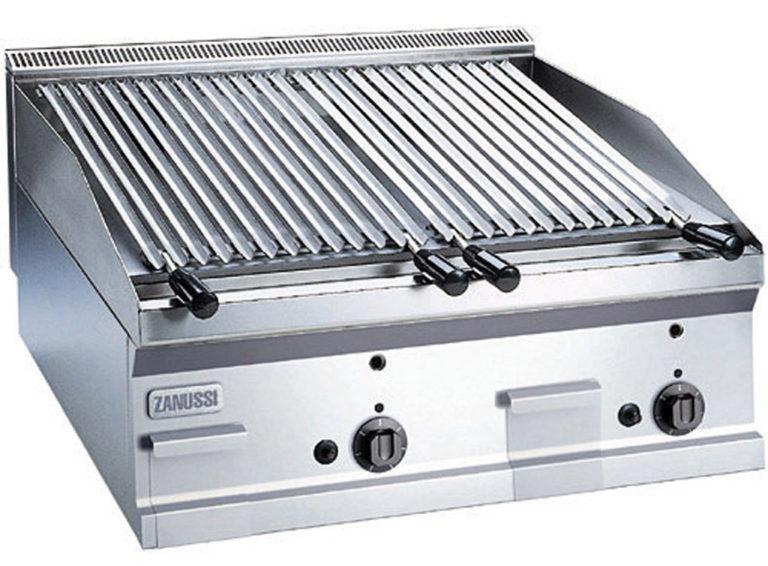 Lavastensgrill Snack 600, gas bänkmodell, 1 modul