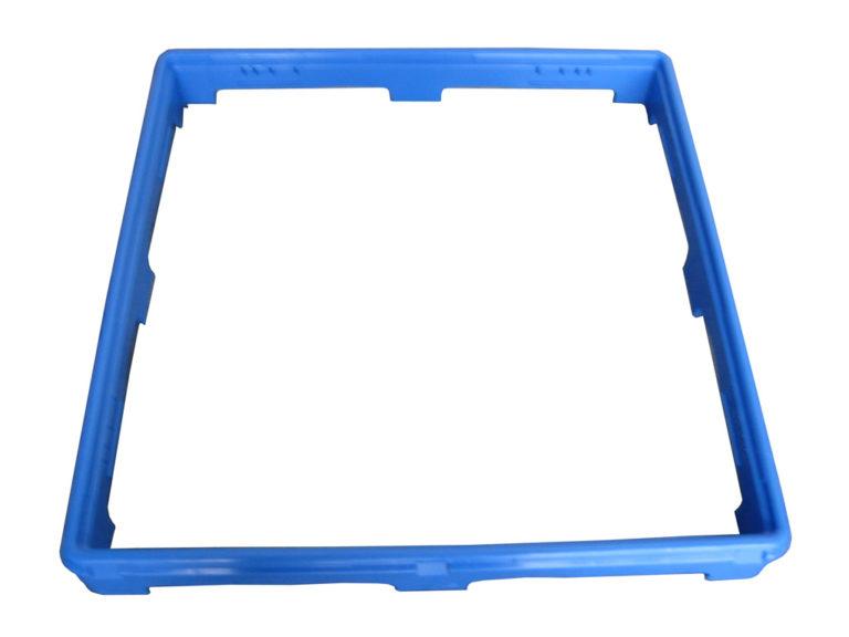 Förhöjningsram för blå diskkorg
