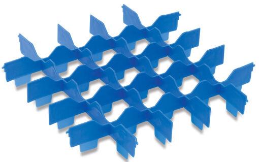 Fackinsats 5x5 för blå diskkorg