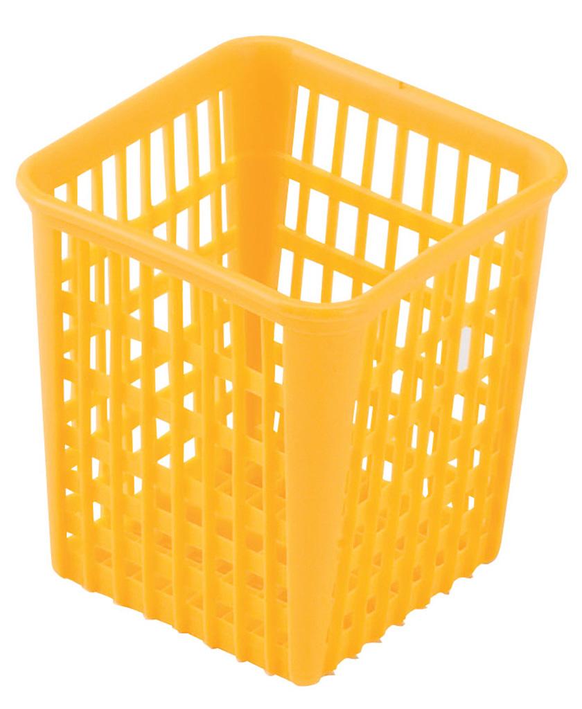 Bestickhållare gul
