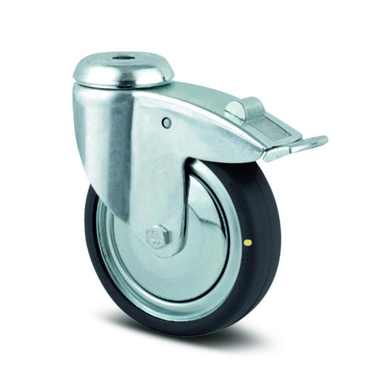 ESD-hjul, svängbart med broms