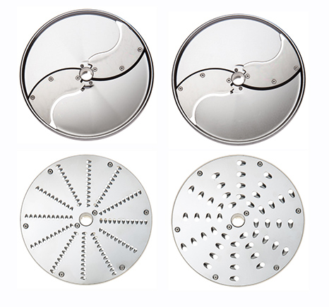 Set of 4 cutting discs for TRS and TRK